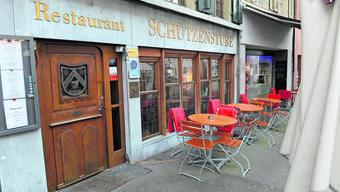 Die «Schützenstube» an der Rathausstrasse 14 mitten im Stedtli.