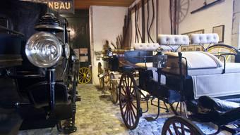 Das Museum für Pferdestärken umfasst eine Sammlung von Luxuskutschen, Schlitten, Postwagen, Geschäftsfuhrwerken, Pferdegeschirren und weiteren Objekten. (Archiv)