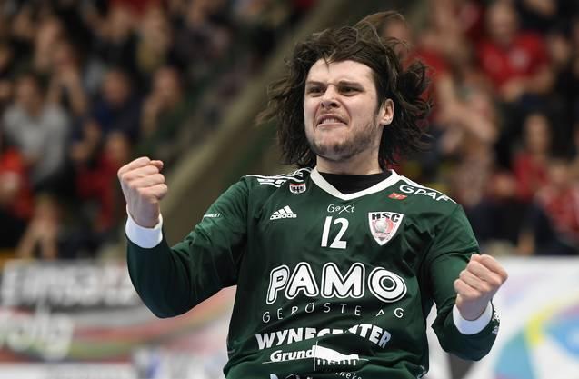 Co-Captain Dario Ferrante könnte der Leidtragende der längerfristigen Vertragsverlängerung des HSC mit Leo Grazioli sein.