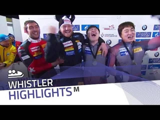 Sensation in Whistler: Rico Peter und Thomas Amrhein gewinnen das engste Zweierbobrennen aller Zeiten.