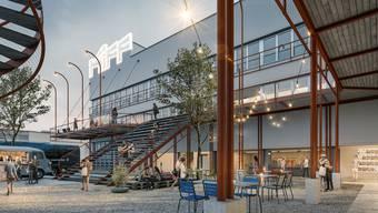 Neubau KIFF (Stand 14. Oktober 2019)