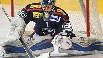 Ambris Goalie Gianluca Hauser