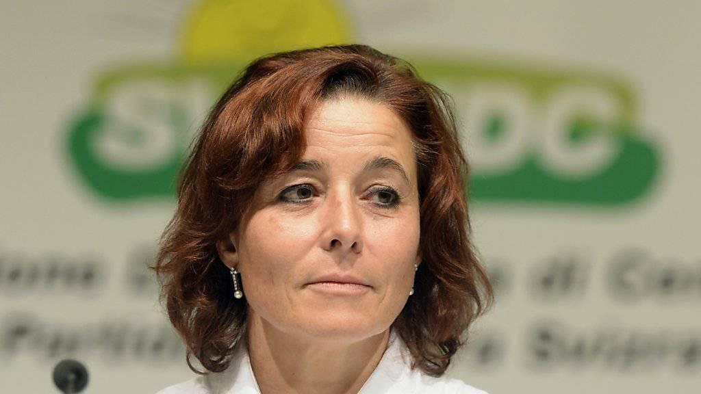 Judith Uebersax sieht keine Möglichkeit, die SVP Frauen Schweiz auf ehrenamtlicher Basis weiterzuführen. (Archiv)