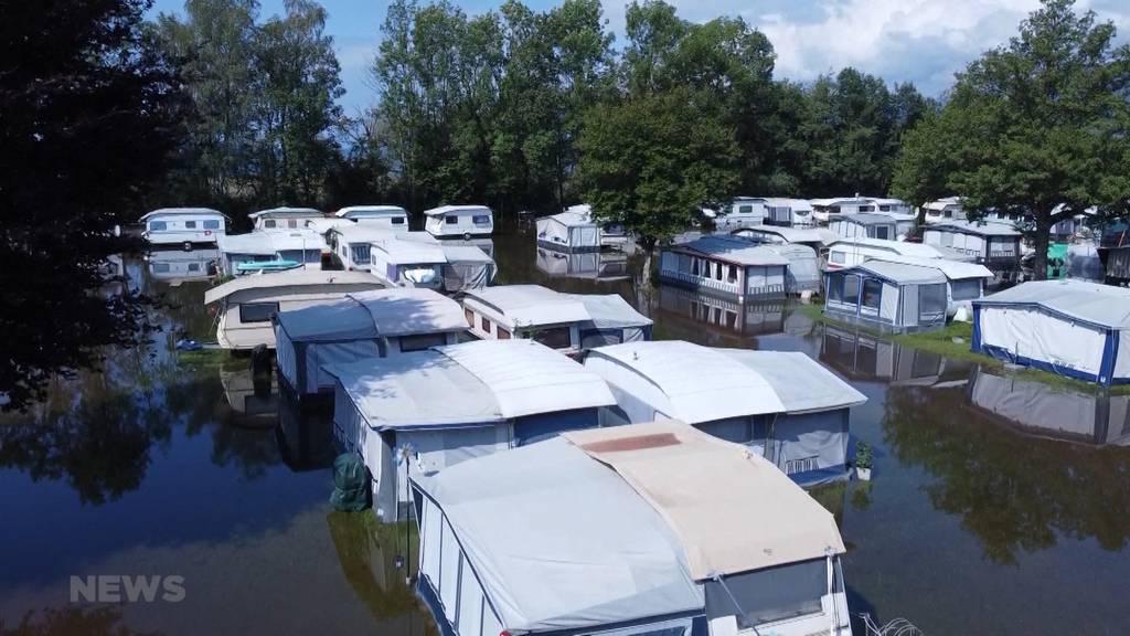Pegel am Neuenburgersee steigt: Campingplatz Gampelen evakuiert und geschlossen