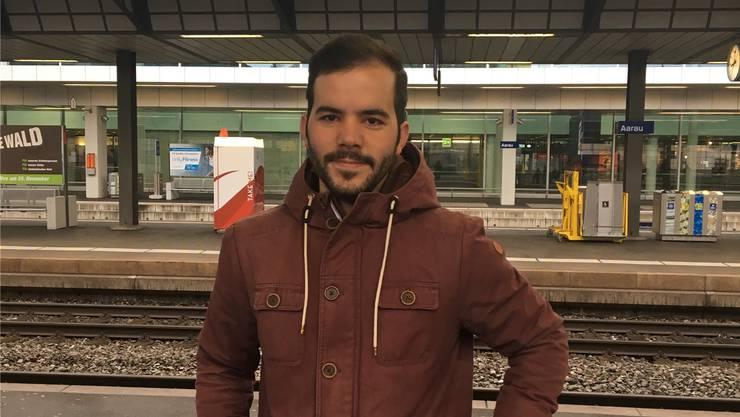 Dariyusch Pour Mohsen (28), Parteisekretär aus Erlinsbach (SO).KBW