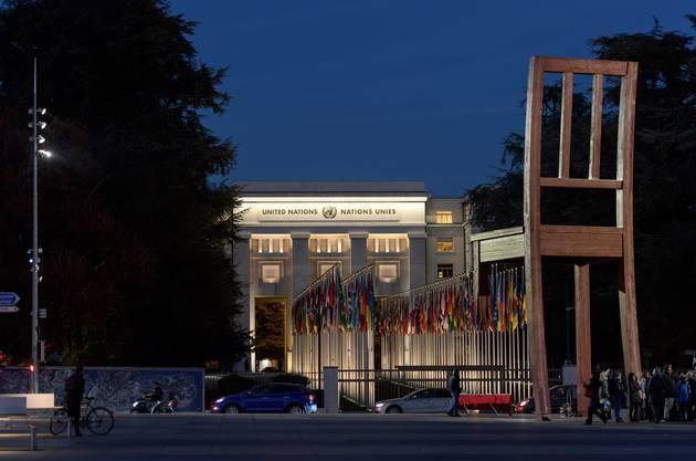Die UNO hat in Genf ihren Amtssitz, genauso wie das Rote Kreuz und die Weltgesundheitsbehörde WHO.