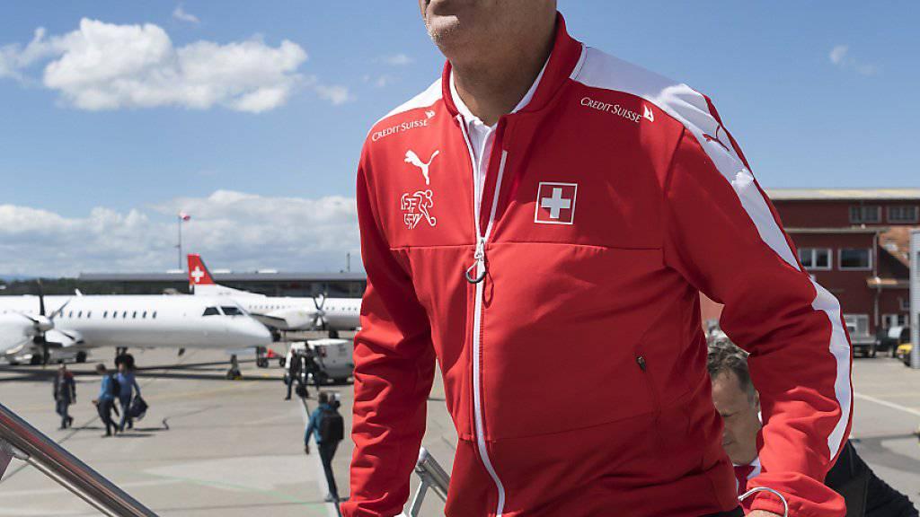 Nationalcoach Vladimir Petkovic befindet sich mit dem Schweizer Nationalteam auf der Überholspur