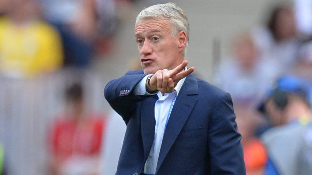 Didier Deschamps muss sich um seine Zukunft keine Sorgen machen