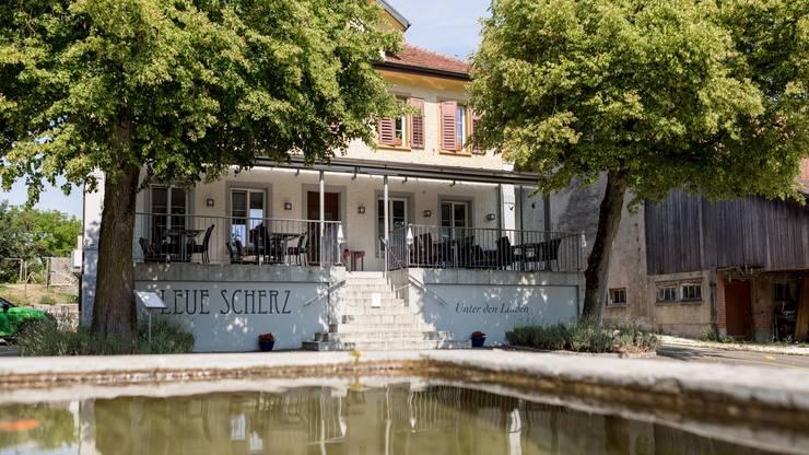 Restaurant Leue, Scherz