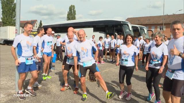 13'500 Teilnehmer: Kunterbunter Greifenseelauf