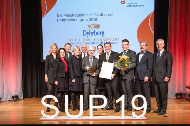 Der SUP 19 (Solothurner Unternehmerpreis 2019) ist verliehen