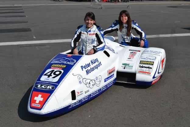 Ladies Team Suisse mit Sophia Kirchhofer/Anna Burkard.