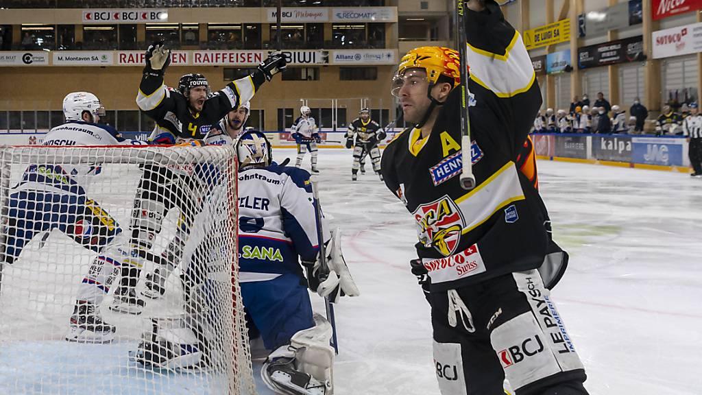 Im Playoff-Final der Swiss League steht es nach zwei Spielen 1:1