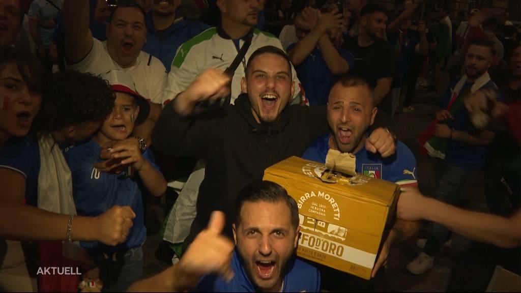 «It's coming Rome»: So feiern Italien-Fans den EM-Titel