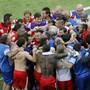 Die Schweizer Nati vereint freut sich auf das grosse Spiel gegen Argentinien