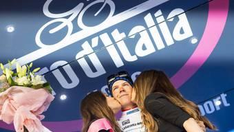 Der Luxemburger Bob Jungels übernahm am Giro d'Italia nach der 10. Etappe das Leadertrikot
