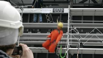 Nach einem Bauunfall wurde der letzte Angeklagte freigesprochen (Symbolbild).