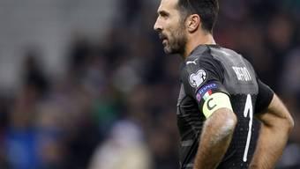 Gianluigi Buffon erlebte am Montagabend das Ende einer grossen Nationalmannschaftskarriere