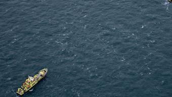 In der Nordsee sind zwei Schiffe kollidiert. Das eine Schiff schlug dabei leck, und es drang Wasser ein. (Symbolbild)