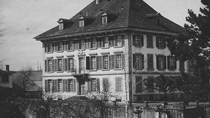 Das Müllerhaus Anfang des 20. Jahrhunderts …