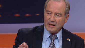 In der Sendung «TalkTäglich» diskutierten die Aargauer Nationalräte Bernhard Guhl, BDP, und Maximilian Reimann, SVP.