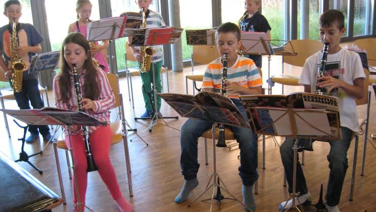 Klassenmusizierklasse Möhlin