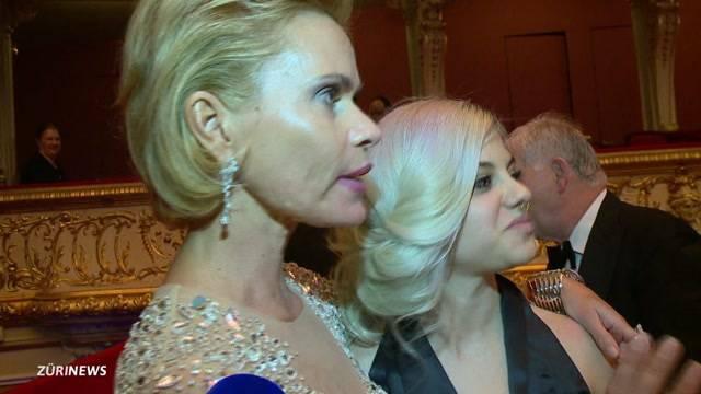 Irina Beller sucht am Opernball Mister Rich