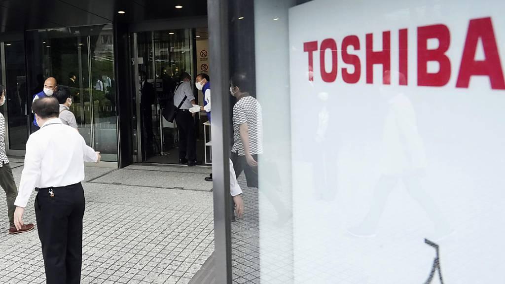 Aktionäre sorgen für Rücktritt von Toshiba-Verwaltungsratschef