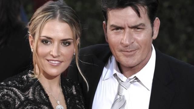 Charlie Sheen und Brooke Mueller, als sie noch ein glückliches Paar waren