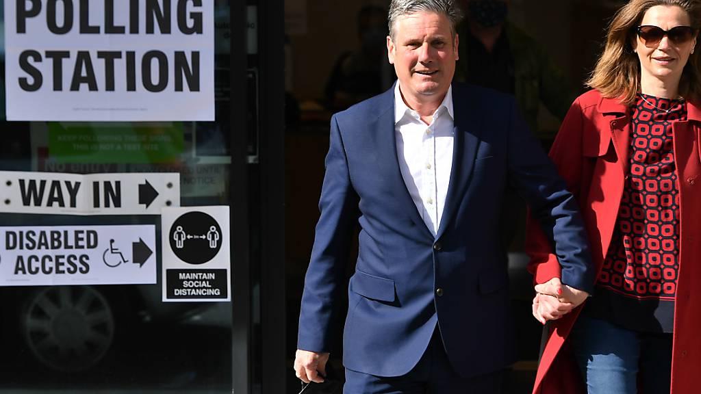 Labour-Partei gewinnt Parlamentswahl in Wales