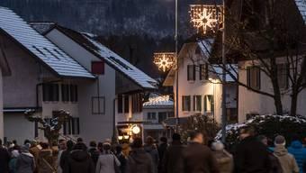 Weihnachtsbeleuchtung Laupersdorf