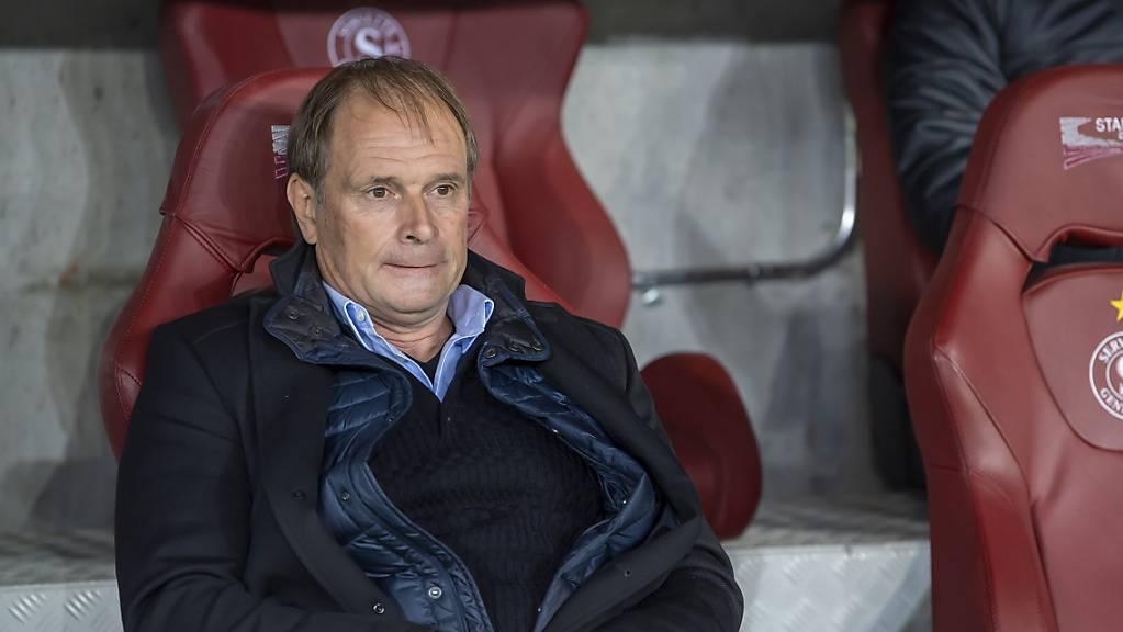 Trainer Alain Geiger bekommt es mit Servette zum Auftakt in die Qualifikation der Conference League mit Molde zu tun