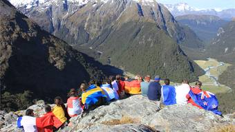 ICYE-Teilnehmer aus der ganzen Welt trafen sich in Neuseeland.