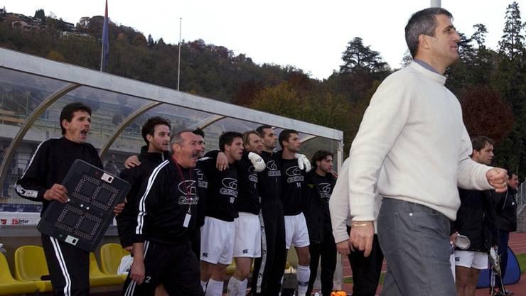 Petkovic begann seine Trainerkarriere in der Sonnenstube der Schweiz. Nach zwei Jahren bei Bellinzona heuerte er beim damaligen Challenge-League-Klub Malcantone Agno an und blieb dort bis 2004.