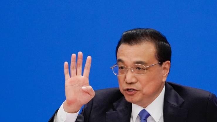 Will die europäische Integration unterstützen: Chinas Premierminister Li Keqiang. (Archivbild)