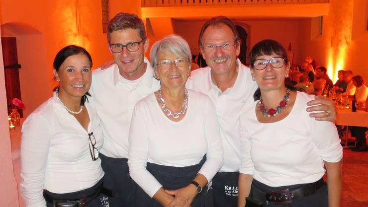 Die aktuelle «Kuko» (v.l.): Beatrix Wolf, Matthias Bolliger, Maja Pfister, Christof Messmer und Lydia Bärtschi.