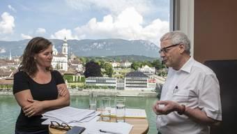 Franziska Roth (SP) und Kurt Fluri (FDP) lassen sich eher in die Karten schauen. (Archivbild)