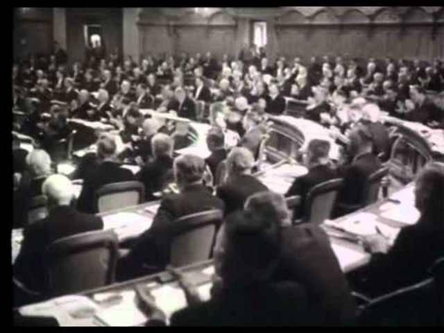 Bundesratswahlen 1959: Die Geburt der Zauberformel - Schweizer Filmwochenschau