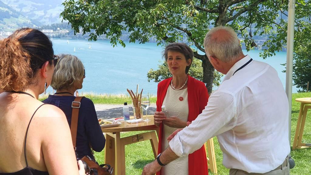 «Die Schweiz verhäbt»: Die Rede von Sommaruga auf dem Rütli