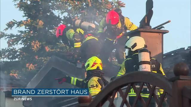 100'000 Franken Schaden nach Brand in Doppeleinfamilienhaus