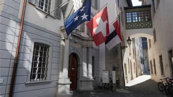 Das Badener Parlament genehmigt das Budget. Bild: Alex Spichale/Archiv