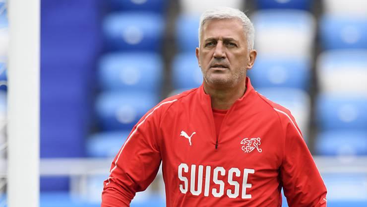 Will nach dem Serbien-Match auf den Rechenschieber verzichten: Nationalcoach Vladimir Petkovic