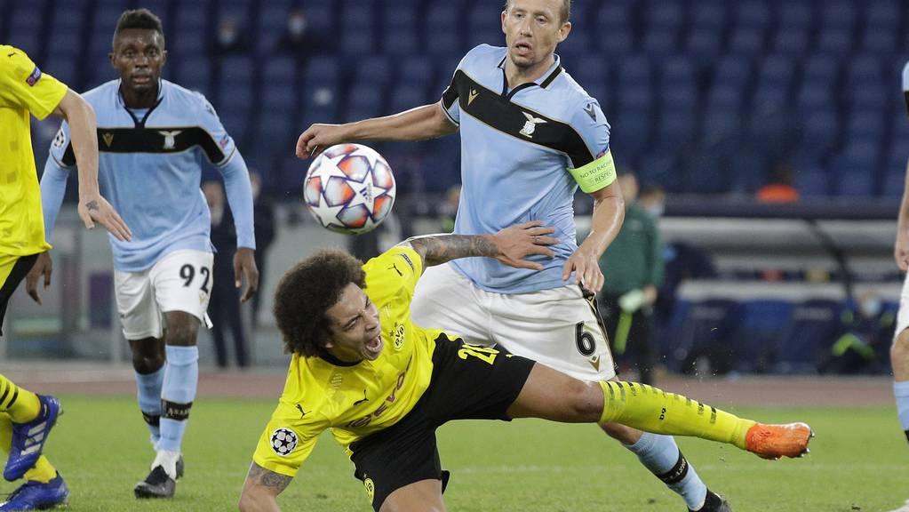 Dortmund musste gegen Lazio unten durch.