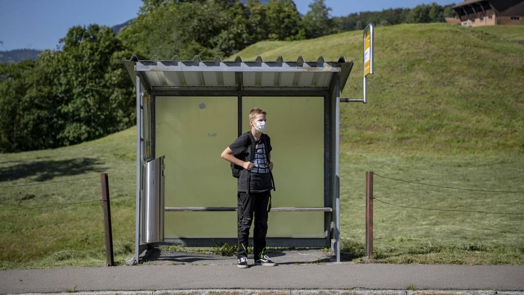 Maskenpflicht an den Aargauer Schulen