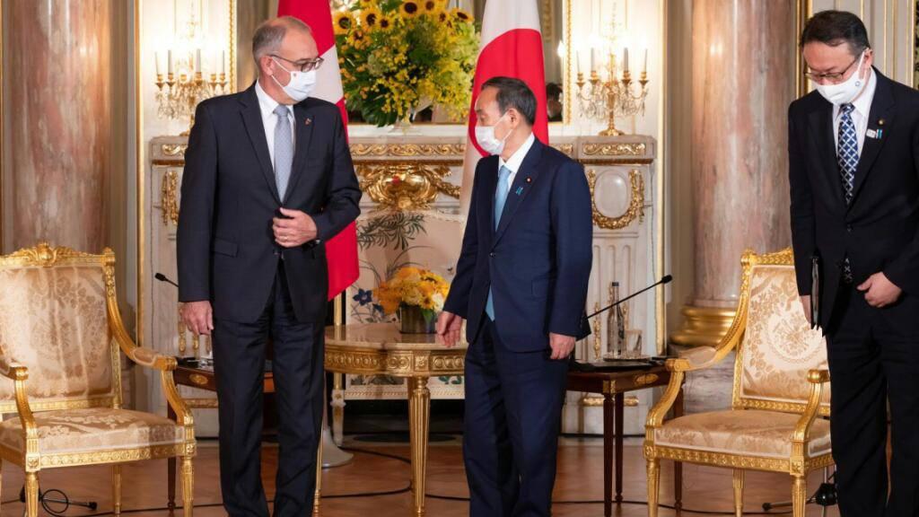 Parmelin trifft japanischen Premierminister Yoshihide Suga