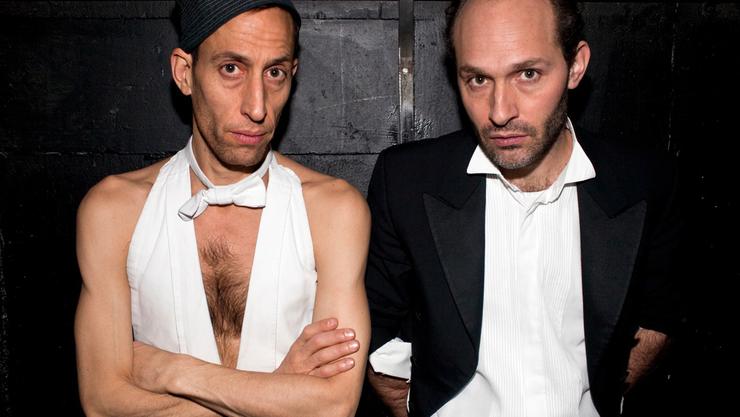 Dimitri de Perrot (l.) und Martin Zimmermann: Die beiden bewegen die Schweizer Kleinkunstszene seit Jahren mit ihrem Zirkustheater.