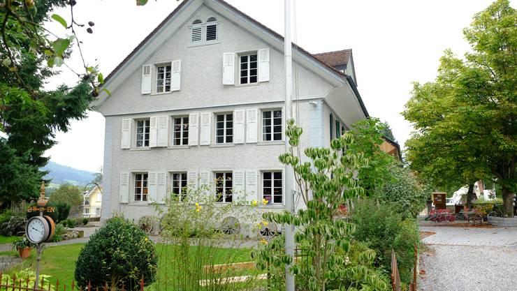 Das Haus an der Haupstrasse 74 hat Baujahr 1849