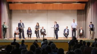 Podiumsdiskussion Wahlkreis 1 Fusionsgemeinde Zurzach