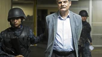 Festnahme wegen Korruption: der frühere guatemaltekische Finanzminister und jetzige Präsident von Oxfam International, Juan Alberto Fuentes.