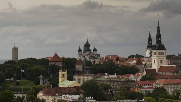 In Estland läuft der Ausnahmezustand wegen des Coronavirus am Montag um Mitternacht aus. Im Bild die Hauptstadt Tallinn.